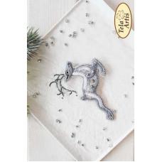 Bead Art Brooch Kit - Deer