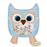 Bead Art Cushion - Gentle Owl