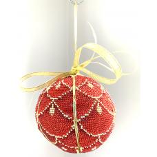 Bead Art Kit - Bauble Scarlet Scales