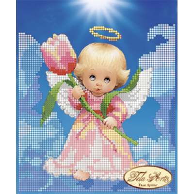 Bead Art Kit - Angel with a Tulip