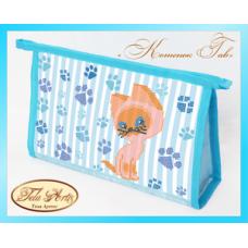Bead Art Kit - Cat Cosmetic Bag