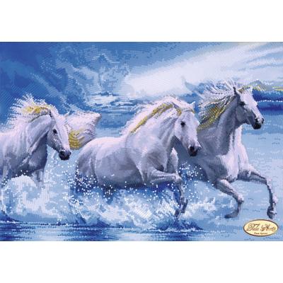 Bead Art Kit - Horses in the Surf
