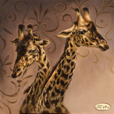 Bead Art Kit - Giraffes
