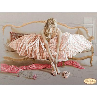 Bead Art Kit - Pink Dress Ballerina (2)