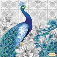 Bead Art Kit - Majestic Peacock