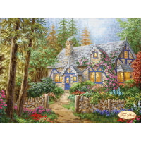 Bead Art Kit - Country Cottage