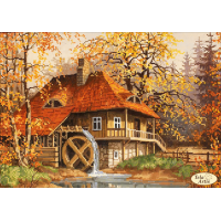 Bead Art Kit - Mill in the Fall