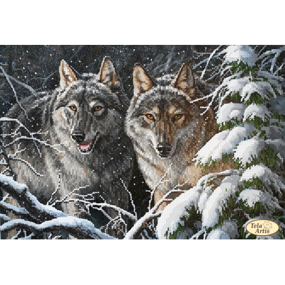 Bead Art Kit - In the Winter Forest