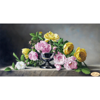Bead Art Kit - Roses and Stone