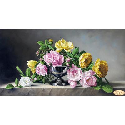 Bead Art Kit - Roses and Stone