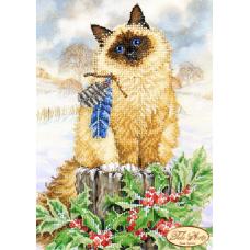 Bead Art Kit - Log Kitten