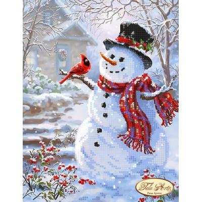 Bead Art Kit - Snowman