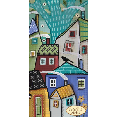 Bead Art Kit - Fairy Tale City - 3 (Tumble Houses)
