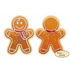 Bead Art Bauble Kit - Gingerbread Man