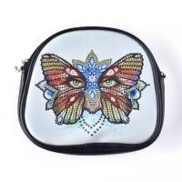 Rhinestone Art - Butterfly Bag