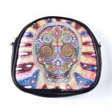 Rhinestone Art - Skull Bag