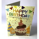 Rhinestone Art - Greetings Cards