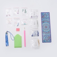 Rhinestone Art Kit - Moroccan Inspired Tassel Bookmark
