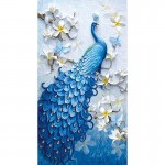 Rhinestone Art Kit - Peacock