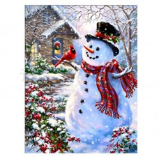 Rhinestone Art Kit - Snowman