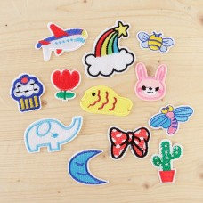 Embroidery Appliques - Fun Mix